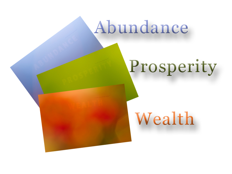 Abundance, Wealth and Prosperity Wallpaper Gift