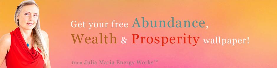 Abundance,Wealth, Prosperity Banner 940