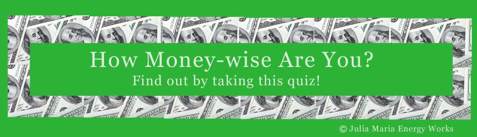 Money Wise Quiz Header